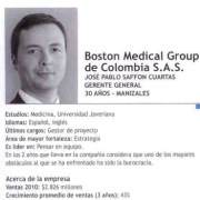 Desempeño del Doctor José Pablo Saffón Boston Medical Group Colombia